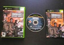 COMMANDOS STRIKE FORCE : JEU Microsoft XBOX (Eidos COMPLET envoi suivi)