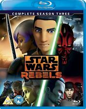 Star Wars Rebels: The Complete Season 3 Three [Blu-ray Set, Region Free, 3-Disc]