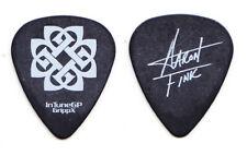 Breaking Benjamin Aaron Fink Signature Black Guitar Pick #3 - 2008 Tour