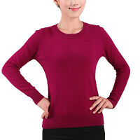idomcats Ladies Jumper Winter top Fashion Womens pullover Cashmere Sweater Size