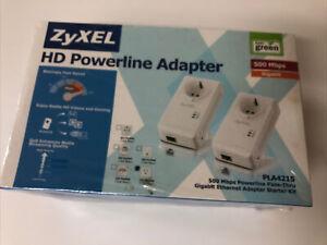 ZyXel HD Powerline Network PLA4215 500mbps