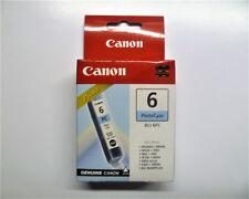 Canon bci-6pc bci6pc bci-6 PC PHOTO FOTO CIANO photocyan inutilizzato sigillato nuovo