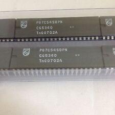 X2 ** NUOVO ** P 87 C 54 SBPN, 112, IC, microcontrollori 8-bit 8051, 16mhz, 40-pin DIP