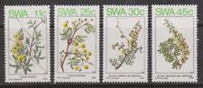 SWA - SOUTH WEST AFRICA 1984 - Spring Flowers in S.W.A.SG 435-438 MNH FAUNA
