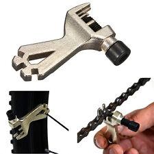 2in1 Bicycle Cycling Mountain Bike Steel Chain Breaker Repair Spoke Wrench Tool