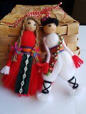 Doll Martenitca Martenica Martenitza Martisor W 15 cm Pizho Penda Martenitsa Art