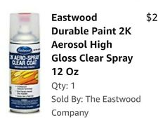 Eastwood Durable 2 K Paint High Gloss Clear Coat