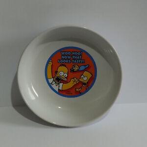 Simpsons Bowl - Kinnerton 2005 - Woo Hoo! Now that Looks Tasty! - Please Read