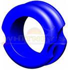 """G5 Meta Peep LG Pro Hunter Large Peep - 1/4"""" Aperture Peep Sight 140 - Blue"""