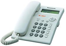 Panasonic KX-TSC11W Corded Phone with Caller ID, White. Brand New