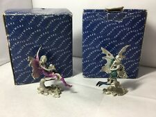 Boxed Shudehill Giftware Pewter Cast Metal Figures Fairies Fariy