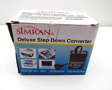 Simran SMF-200 Deluxe 200 Watts Step Down Voltage Converter International Travel