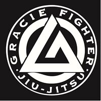 "Gracie Jiu-Jitsu  Decal ""Sticker"" for Car or Truck or Laptop"