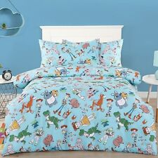 Toy Story - Small Characters - Single/US Twin Bed Quilt Doona Duvet Cover Set