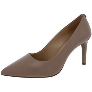MICHAEL Michael Kors Womens Dorothy Taupe Dress Heels 7.5 Wide (C,D,W) BHFO 4248