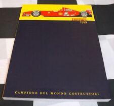 1999 FERRARI YEARBOOK BROCHURE ANNUAL F1 REPORT FERRARI F399 550 MARANELLO 360