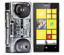 Housse F Nokia Lumia 520 Housse de protection sac Case Cover tpu GHETTOBLASTER radio