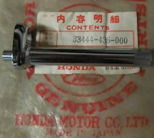 1979 Honda XL100S Rear Turn Signal Stay NOS 33444-436-000