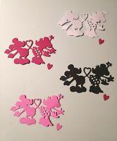 Valentine Mickey And Minnie Love Die Cuts (12)