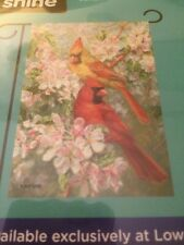 """Small Spring Bird Garden Flag 12.5"""" X 18"""" New"""
