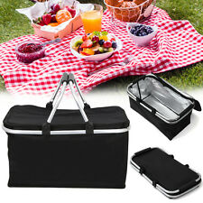 30L Large Insulated Thermal Cooler Bag Picnic Camping Lunch Tote Storage Ice Box