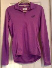 Women's M Biking Shirt Athletic Top Purple