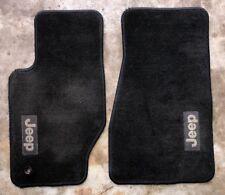 2- JEEP Carpet Floor Floor Mats OEM Factory GRAY PRD07011RFM-1 & PRD0711LFM-1