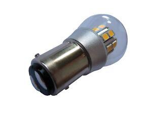 Lampe Birne LED warm weiss BAY15D 6V DC 21/5W 18/5W Rücklicht Stopplicht Käfer