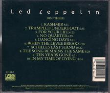 CD ROCK 60'S 70'S LED ZEPPELIN Kashmir NO QUARTER the song remains the same