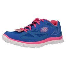 Baskets décontractées bleus Skechers pour fille de 2 à 16 ans