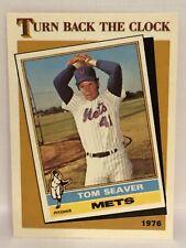 1986 Topps Tiffany Tom Seaver baseball card New York Mets #403 TBC Clock 1976