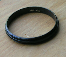 49mm to 49mm filter macro coupler reverse ring male to male