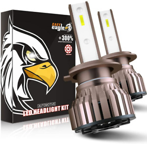 EASY EAGLE H7 LED Headlight Bulbs 10800LM 6000K