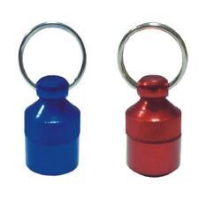 Tubo portadirección rojo o azul para perros y gatos