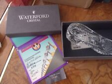 """Waterford Crystal Limited Edition """"Cinderella's Slipper"""""""
