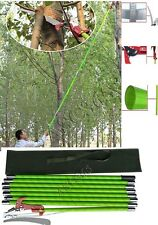 26 Foot Tree Pole Saw With Scissor Cut Home Garden Yard Saw Insulation Pole Saw