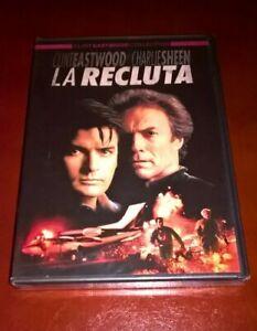 DVD LA RECLUTA / CLINT EASTWOOD CHARLIE SHEEN / WARNER NUOVO
