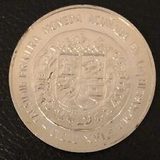 Dominican Republic .900 Silver .8102 oz. ASW 10 Pesos Coin