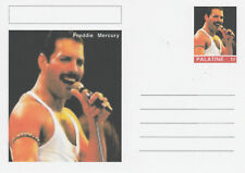 CINDERELLA - 5862 - FREDDIE MERCURY  on Fantasy Postal Stationery card