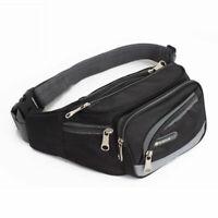 Men Women Waist Pack Purse Sport Bum Belt Bag Cycling Travel Pouch Bag