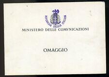 RSI libretto omaggio ministro delle comunicazioni