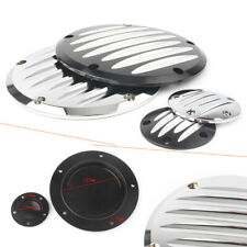 New listing Silver 5 Hole Clutch Timing Covers Fit FLHTK Electra Glide Ultra Limited 2010-13