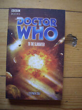 Doctor Who To The Slaughter, Eighth Doctor Adventures (EDA), BBC paperback