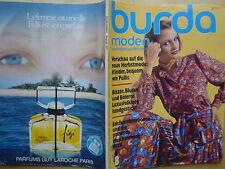 Burda Moden 1977/08 Folklore Blusen Blazer Boleros Chanel 70er J Modezeitschrift