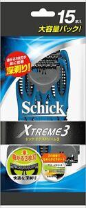 Schick Extreme 3 3 Blade 15 pieces NEW