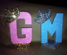 Sparkly Crown Royal Decoration Any Letter For Royal Theme crown Princess Prince