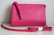 FURLA Damen Tasche LUNA Crossbody Messenger Saffiano Leder pinky Neu 7863432