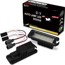 LED Number License Plate Light Xenon White Bulb for Skoda Superb Seat Altea Leon