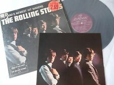 ROLLING STONES 1964__EARLIEST 1st PRESS__Newest Hitmakers LP__SHRINK + PHOTO__EX
