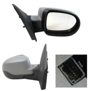 Renault Clio MK3 Wing Door Mirror Electric Primed Cover Drivers Side 2009-2013